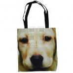 (EBG0005) Dog Face Tote Bag