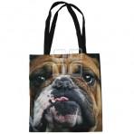 (EBG0006) Dog Face Tote Bag