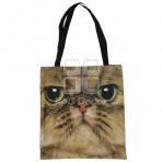 (EBG0009) Cat Face Tote Bag