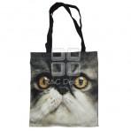 (EBG0010) Cat Face Tote Bag