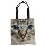 (EBG0011) Cat Face Tote Bag