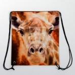 (EBG0013) Giraffe Face Shoes Bag