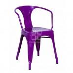 (EDT3023) Art Purple Chair