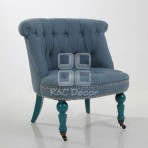 (EDT3045) Blue Sofa