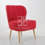 (EDT3048) Red Sofa