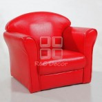 (EDT3051) Red Kids Sofa