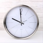 (ELW0004) Stainless Steel Wall Clock