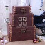 (EBO0001) Wood Box Set