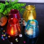 (ECH0021) Glass Tea-Light Holder / Hanging