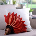 (ECC0003) 3D Sunflower Cushion