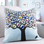 (ECC0005) Printed Tree Cushion